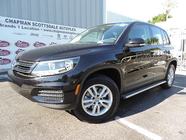 Scottsdale  gt  New Volkswagen Scottsdale  gt  2014 Volkswagen Tiguan SVolkswagen Tiguan 2014 Black