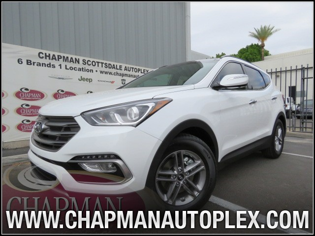 used 2017 hyundai santa fe sport 2 4l stock 7h0279a chapman automotive group. Black Bedroom Furniture Sets. Home Design Ideas