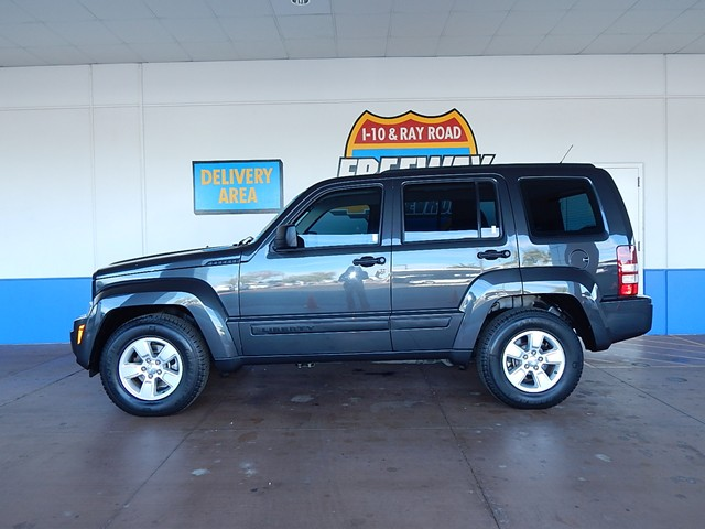 used 2011 jeep liberty sport phoenix az for sale at stock 160305b. Black Bedroom Furniture Sets. Home Design Ideas