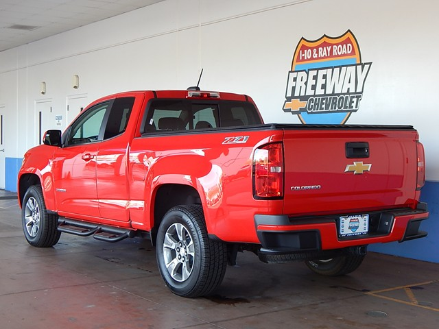 2016 Chevrolet Colorado Z71 Extended Cab 4x4 – Stock #CP93933