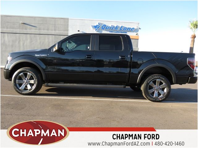 2014 ford f 150 roush fx4 143392 chapman automotive group. Black Bedroom Furniture Sets. Home Design Ideas