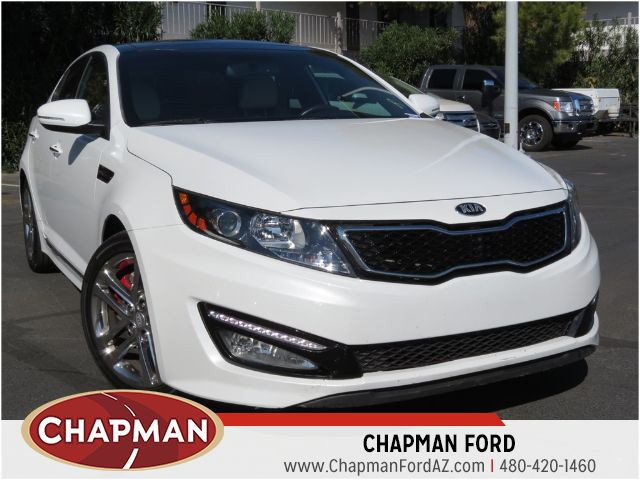 used 2013 kia optima sxl phoenix az stock 143415a chapman ford. Black Bedroom Furniture Sets. Home Design Ideas