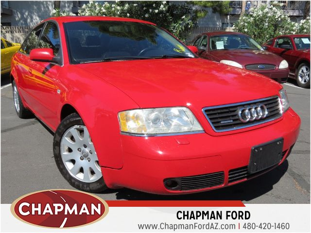 used 2001 audi a6 2 8 quattro stock 150104a chapman. Black Bedroom Furniture Sets. Home Design Ideas