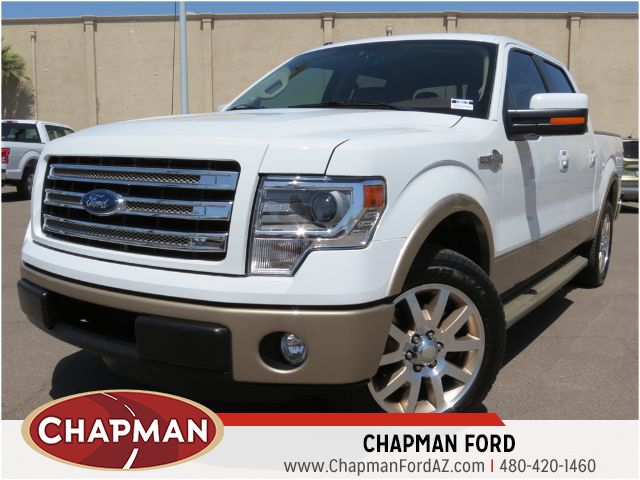 used 2013 ford f 150 king ranch crew cab stock 150927a chapman automotive group. Black Bedroom Furniture Sets. Home Design Ideas