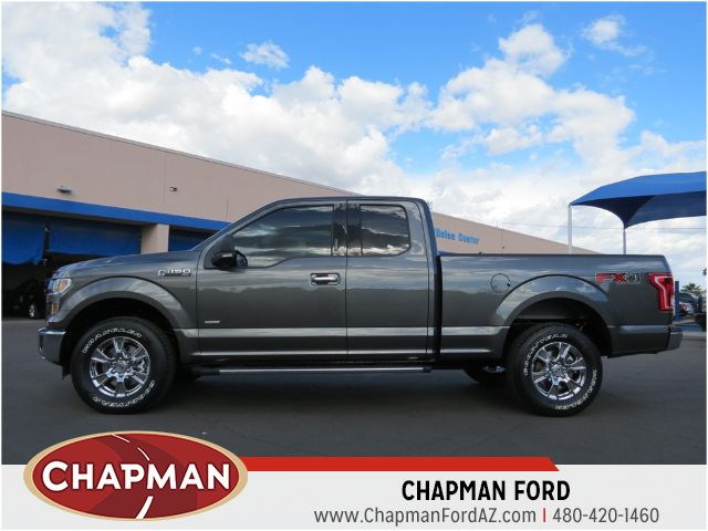 2015 ford f 150 supercab xlt stock 150938 chapman automotive group. Black Bedroom Furniture Sets. Home Design Ideas