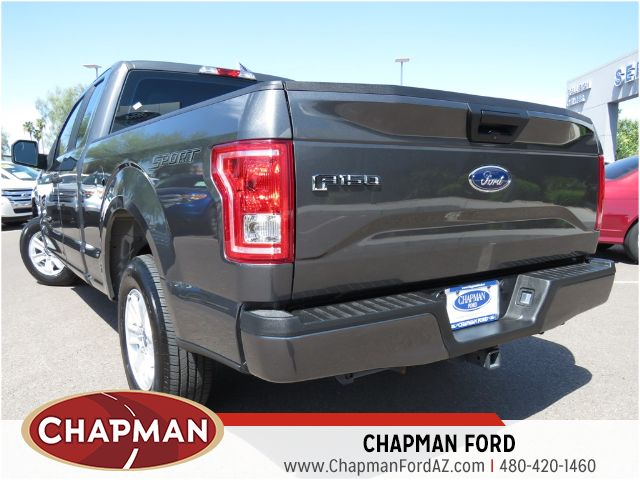 used 2015 ford f 150 xl extended cab stock 151806a chapman automotive group. Black Bedroom Furniture Sets. Home Design Ideas