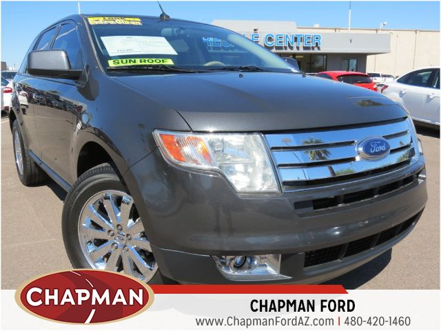used 2007 ford edge sel stock 151836b chapman automotive group. Black Bedroom Furniture Sets. Home Design Ideas