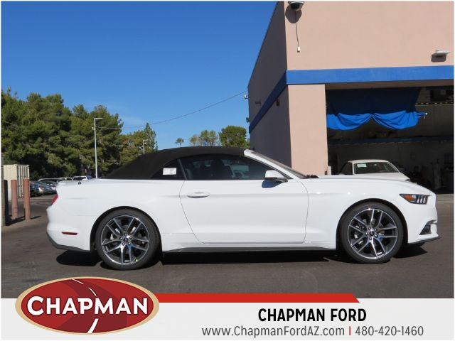 2016 ford mustang ecoboost premium phoenix az stock 160491 chapman ford. Black Bedroom Furniture Sets. Home Design Ideas
