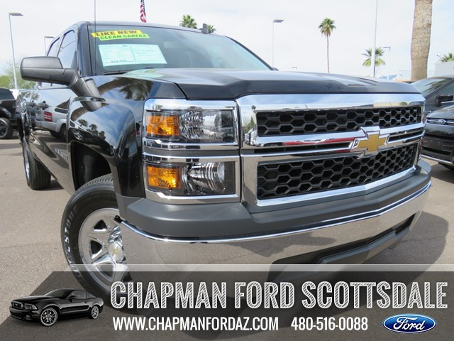 used 2015 chevrolet silverado 1500 ls extended cab stock 160980a chapman automotive group. Black Bedroom Furniture Sets. Home Design Ideas