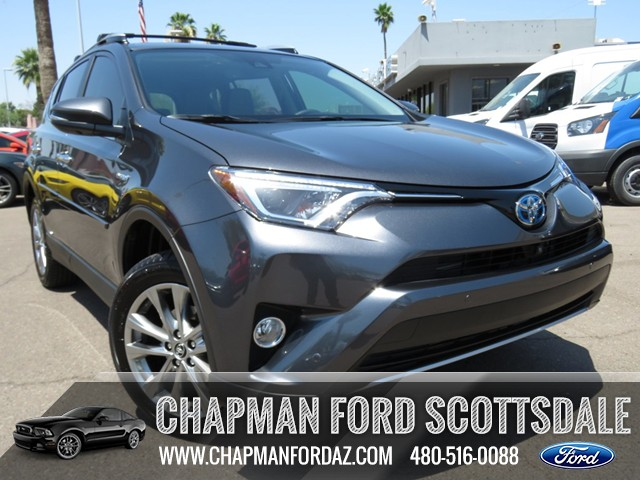 used 2016 toyota rav4 hybrid limited awd stock 161411a chapman automotive group. Black Bedroom Furniture Sets. Home Design Ideas