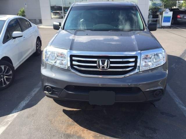 used 2013 honda pilot lx for sale at mercedes benz of tucson stock h1518230a. Black Bedroom Furniture Sets. Home Design Ideas
