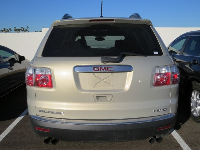 used 2009 gmc acadia sle 1 for sale at mercedes benz of tucson stock h1519430b. Black Bedroom Furniture Sets. Home Design Ideas
