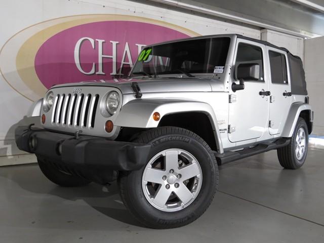 used 2007 jeep wrangler unlimited sahara stock h1601360a chapman acura tucson. Black Bedroom Furniture Sets. Home Design Ideas