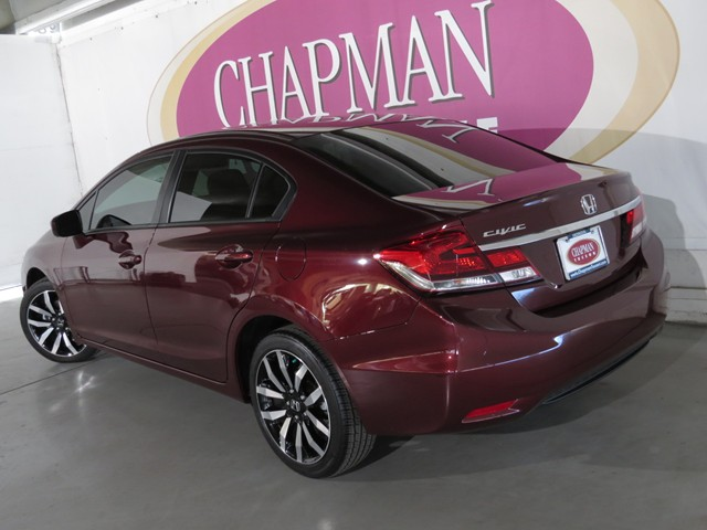 Used 2015 honda civic ex l stock h1609650a chapman for 2015 honda civic ex l