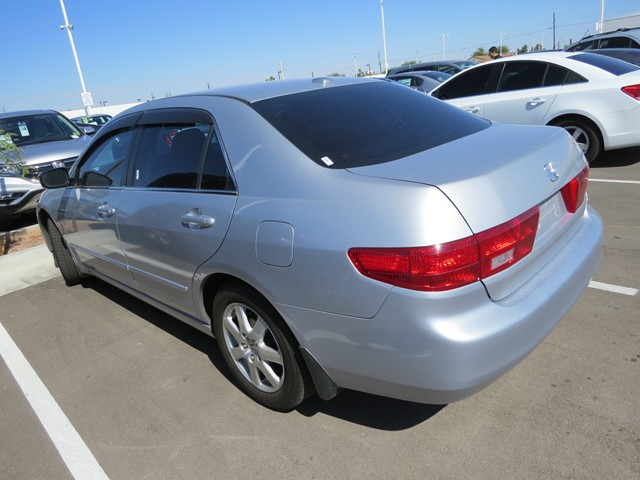 used 2005 honda accord ex l v6 w navi for sale stock h1615460a mercedes benz of tucson. Black Bedroom Furniture Sets. Home Design Ideas