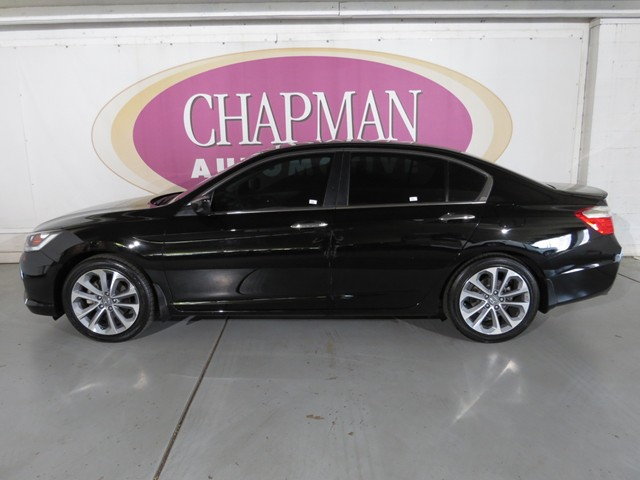 used 2014 honda accord sport for sale stock h1672760a chapman honda tucson. Black Bedroom Furniture Sets. Home Design Ideas