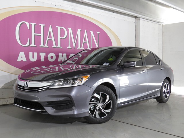 2016 honda accord sdn lx h1602670 chapman automotive group. Black Bedroom Furniture Sets. Home Design Ideas