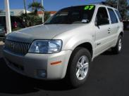 2007 Mercury Mariner Hybrid 4WD Stock#:W1375090