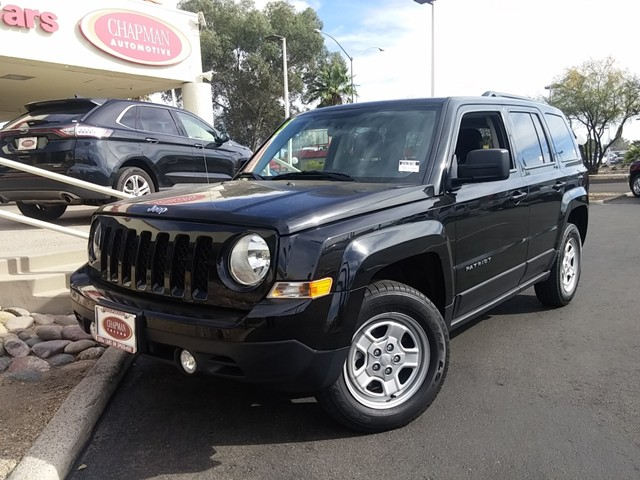 used 2015 jeep patriot sport stock t1670250 chapman. Black Bedroom Furniture Sets. Home Design Ideas