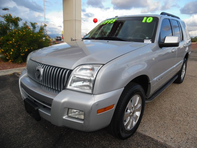 used 2010 mercury mountaineer for sale at mercedes benz of tucson stock u1575190. Black Bedroom Furniture Sets. Home Design Ideas