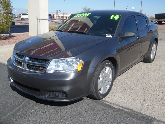 2014 Dodge Avenger SE 49205 miles Cruise control 2-stage unlocking doors Anti-theft system eng