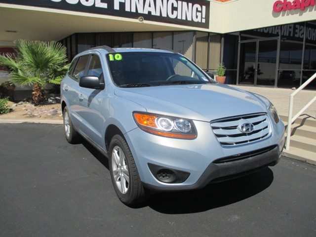 2010 hyundai santa fe gls in tucson stock w1473740 chapman acura in tucson az. Black Bedroom Furniture Sets. Home Design Ideas
