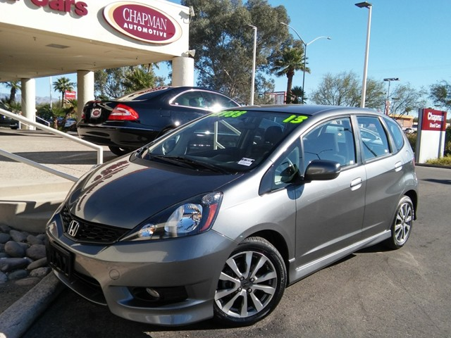 2013 Honda Fit Sport 31056 miles Cruise control Anti-theft system audio security system Anti-t