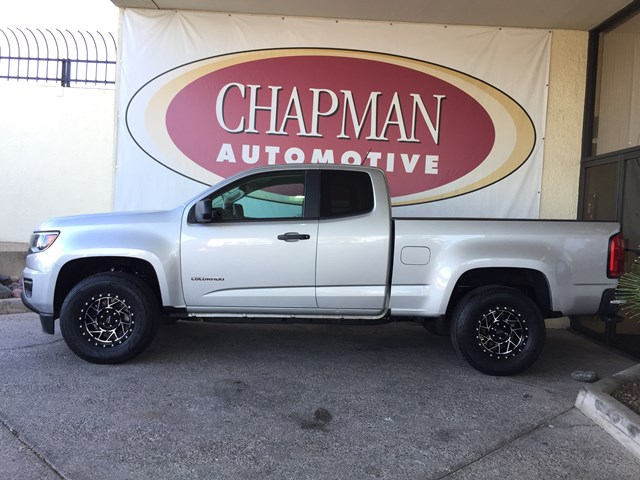 2017 Chevrolet Colorado Work Truck Extended Cab – Stock #W2071400