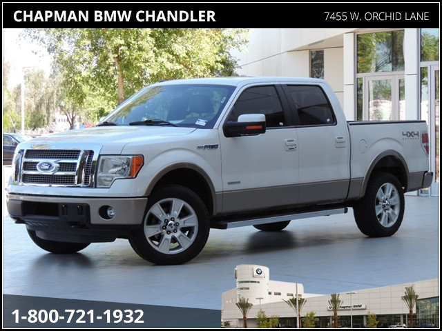 Used 2011 Ford F 150 Lariat Crew Cab Nav For Sale Stock 460866a Chapman Bmw On Camelback