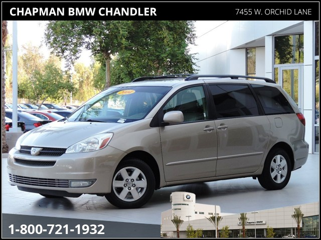 used 2004 toyota sienna xle 7 passenger stock 67747a chapman automotive group. Black Bedroom Furniture Sets. Home Design Ideas