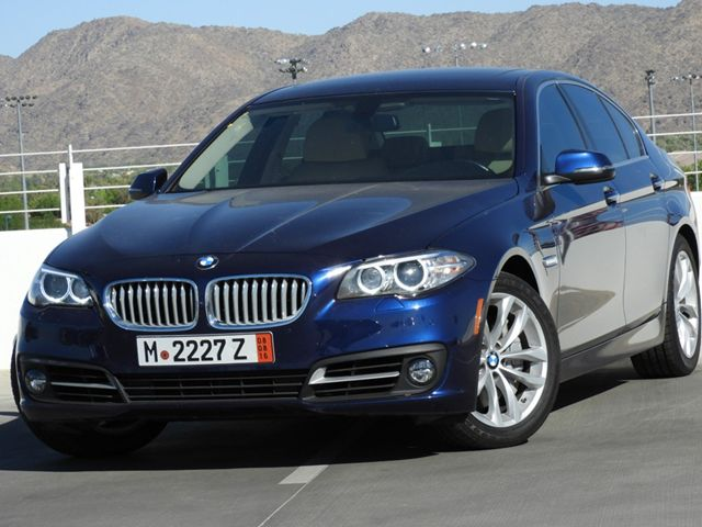 2016 BMW 5-Series 550i Nav