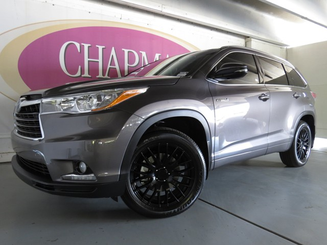 used 2015 toyota highlander hybrid limited stock kv167190 chapman automotive group. Black Bedroom Furniture Sets. Home Design Ideas