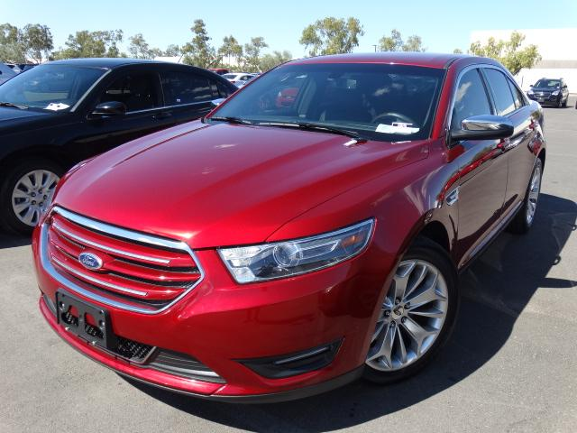 2015 Ford Taurus 33066 miles ABS 4-Wheel AdvanceTrac Air Conditioning AMFM Stereo Auto 6-