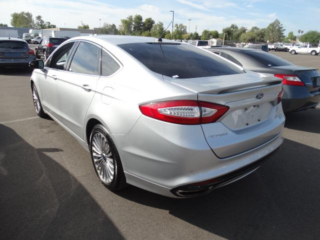 used 2014 ford fusion titanium ecoboost for sale stock 61017 chapman chrysler jeep. Black Bedroom Furniture Sets. Home Design Ideas