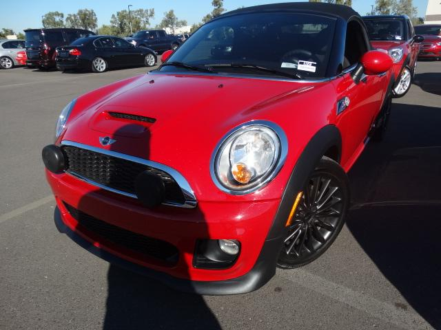 2013 MINI Roadster 34240 miles VIN WMWSY3C5XDT565349 For more information contact our interne