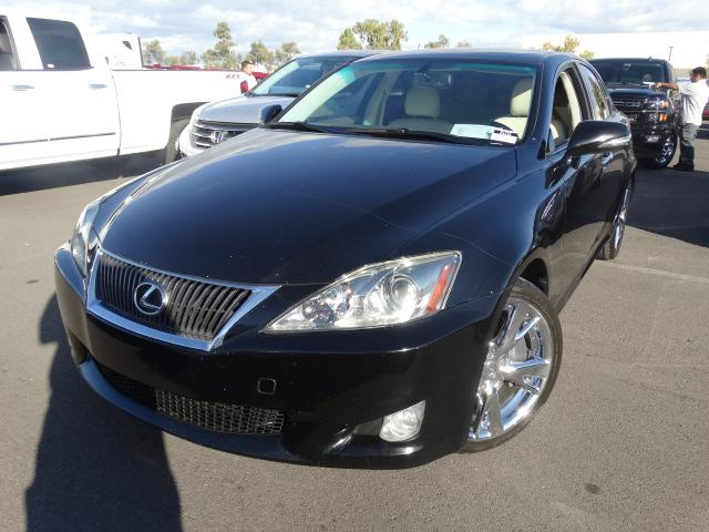 2010 Lexus IS 350 76254 miles ABS 4-Wheel Air Conditioning AMFM Stereo Automatic 6-Spd wO