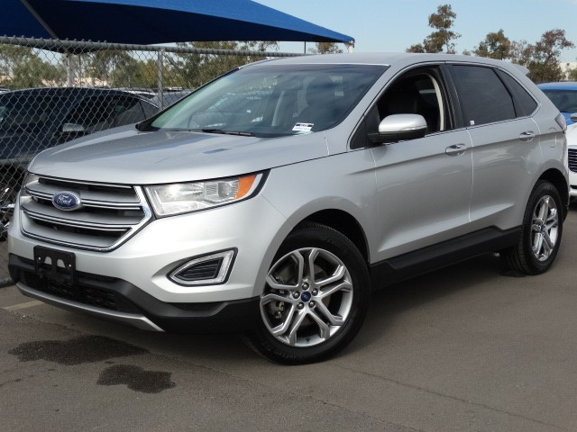 used 2015 ford edge titanium for sale stock 61725 chapman chrysler jeep. Black Bedroom Furniture Sets. Home Design Ideas
