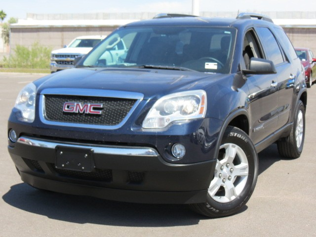 used 2008 gmc acadia sle for sale stock 62612 chapman. Black Bedroom Furniture Sets. Home Design Ideas