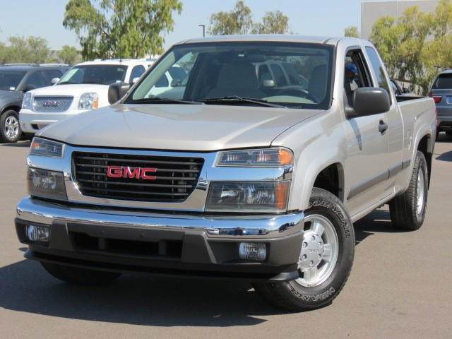 used 2008 gmc canyon sl extended cab for sale stock. Black Bedroom Furniture Sets. Home Design Ideas