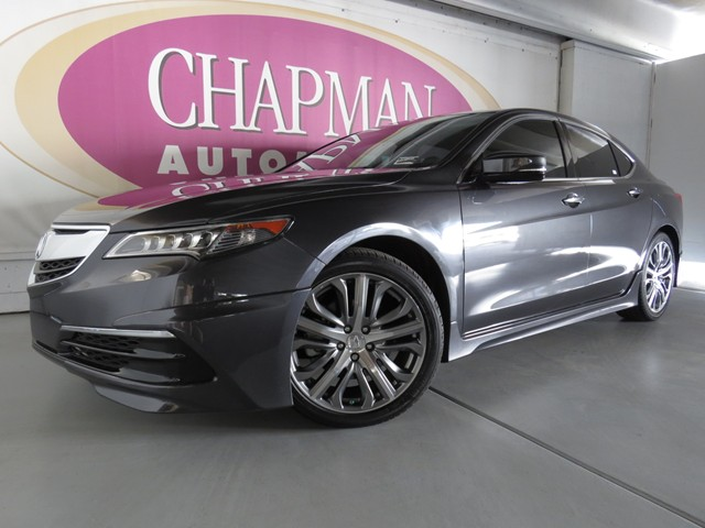 2015 acura tlx v6 tech pkg stock a1500660 chapman. Black Bedroom Furniture Sets. Home Design Ideas