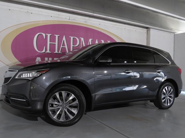 2015 Acura MDX w/Tech Details