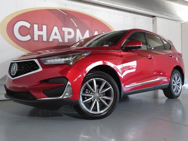 New 2020 Acura Rdx Tech Pkg A2000350 Chapman Tucson