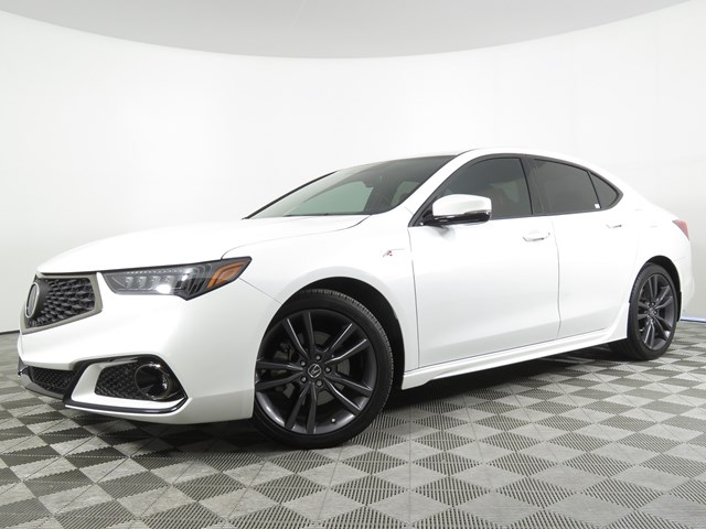 Certified Pre-Owned 2019 Acura TLX w/Tech w/A-SPEC