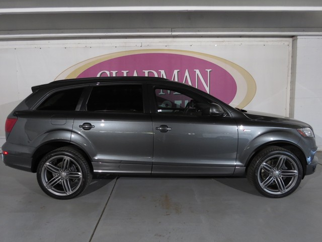 used 2015 audi q7 3 0t quattro s line prestige for sale stock d1703520a mercedes benz of tucson. Black Bedroom Furniture Sets. Home Design Ideas