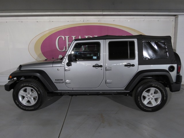 Used 2015 jeep wrangler unlimited sport for sale stock for Mercedes benz silver spring service coupons