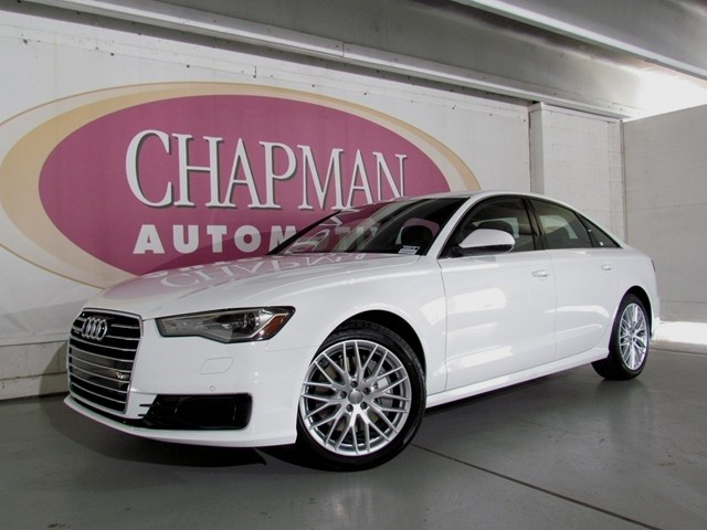 2016 audi a6 2 0t quattro premium d1604170 chapman automotive group. Black Bedroom Furniture Sets. Home Design Ideas