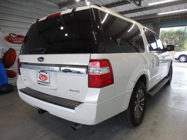 used 2016 ford expedition el xlt for sale at chapman mazda stock cp63831. Black Bedroom Furniture Sets. Home Design Ideas