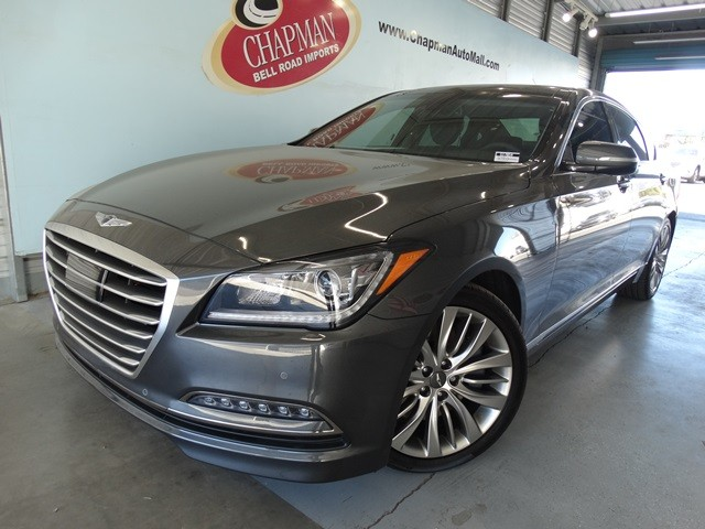 2017 genesis g80 5 0l ultimate phoenix az stock g17054 chapman genesis in phoenix. Black Bedroom Furniture Sets. Home Design Ideas