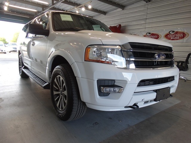 used 2016 ford expedition el xlt for sale at chapman mazda stock p2672. Black Bedroom Furniture Sets. Home Design Ideas