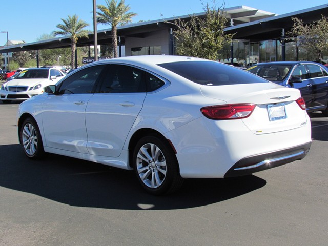used 2015 chrysler 200 limited for sale stock cp70566 mercedes benz of tucson. Black Bedroom Furniture Sets. Home Design Ideas